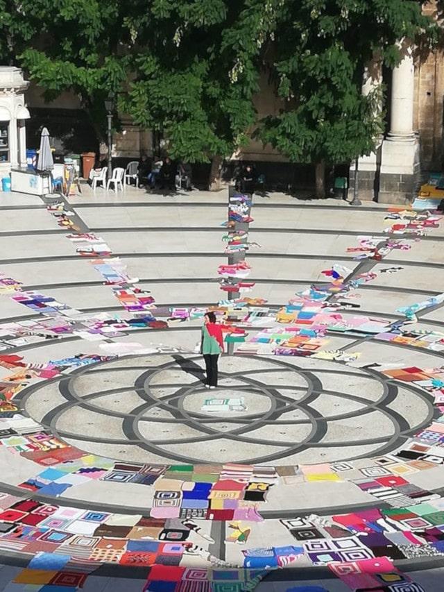 La Coperte di Palmina in piazza