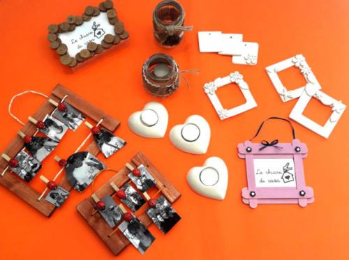 Gadget realizzati dai ragazzi