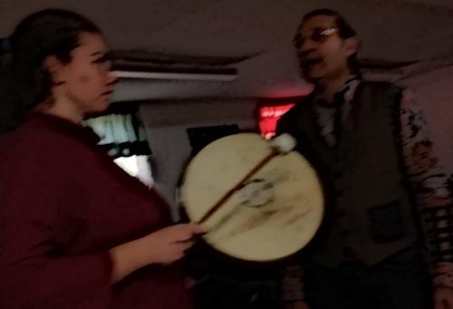 Vibrazioni del Tamburo col gruppo Le Chiavi di Casa