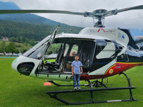 anche in giro per il Brentain Elicottero.